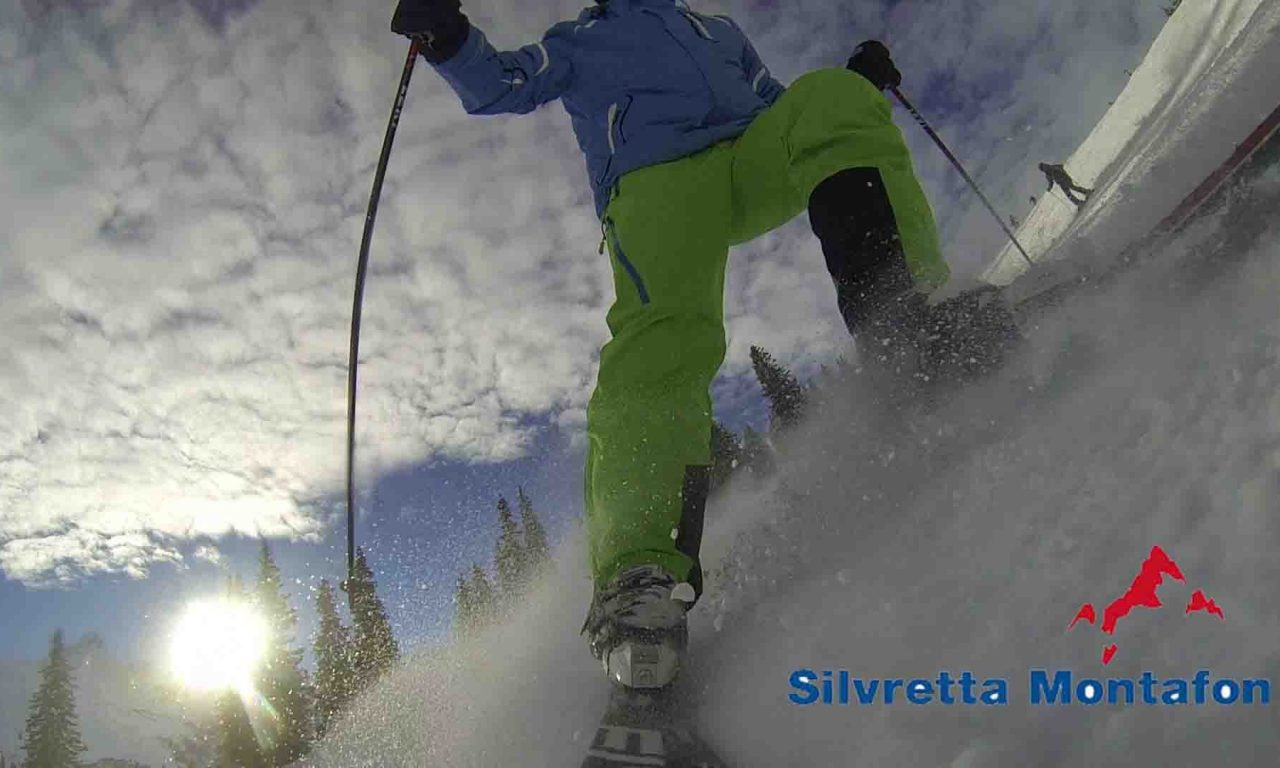 Die ersten Schwünge der Saison in der Silvretta-Montafon