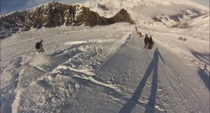 Early Powder at Hintertux 2014