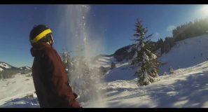 Powdern in der Silvretta-Montafon und am Hochhäderich