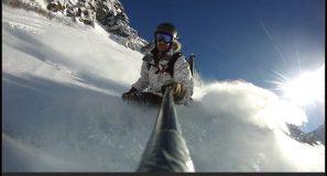 Powdern in der Silvretta-Montafon