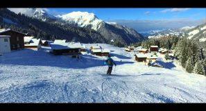 Skifahren im Montafon 2016